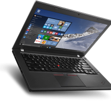 Laptopy z linii Lenovo ThinkPad to wzmocnione konstrukcje o biznesowej funkcjonalności idealne do pracy biurowej